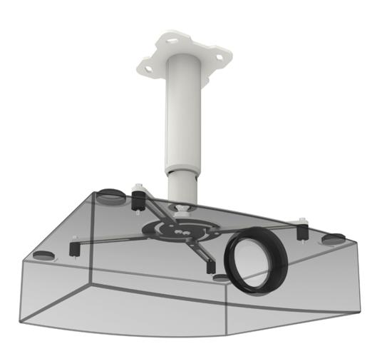 Afbeeldingen van Plafondbeugel projector L1