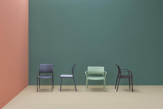 Afbeeldingen van Ara stoelen - groep