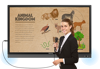 """Afbeeldingen van Benq Touchscreen RP 65"""""""