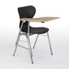 Afbeeldingen van 4-pootsstoel Sidi met kunststofzitschaal - rijenverbinding mogelijk