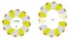 Afbeeldingen van Penta - 5-hoeks stapelbare tafels - groep
