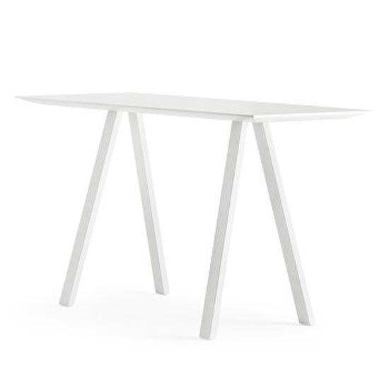 Afbeeldingen van Arki - hoge tafel - wit blad