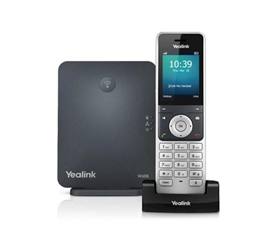 Afbeeldingen van Yealink W60P IP Singlecell DECT - 1 x Base + 1 x Handset