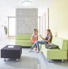 Afbeeldingen van Relax sofa - in kunstleder of gestoffeerd - met vaste rugleuning