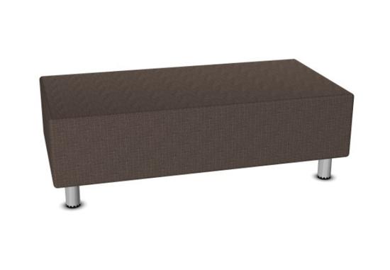 Afbeeldingen van Relax sofa - in kunstleder of gestoffeerd - poef rechthoekig
