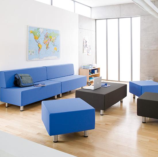 Afbeeldingen van Relax sofa's en poefs - groep