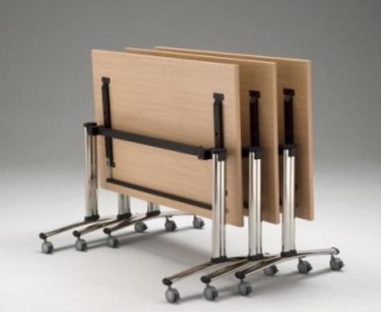 Afbeeldingen van Mobiele klaptafel - innovatief klapmechanisme