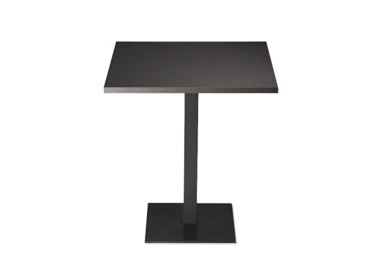 Afbeeldingen van Carro - groep - lage en hoge tafels met ronde vierkante poot - hoogtes 74 cm en 110 cm