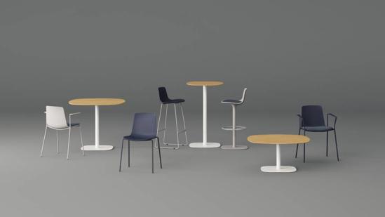 Afbeeldingen van Iron tafels - groep