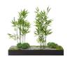 Afbeeldingen van Colline - decoratieve devider in metaal - zen - in semi-natural en mossen