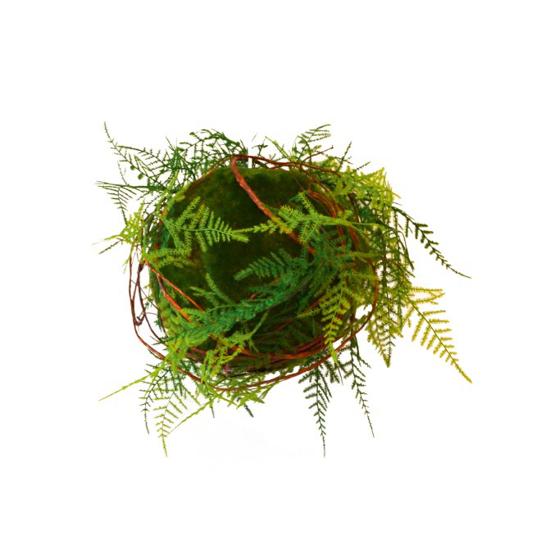 Afbeeldingen van Fougeres - kunstplanten met stalen hanger 50 cm