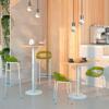 Afbeeldingen van TR - designtafel - blad in HPL - werkhoogte: 75 en 110 cm