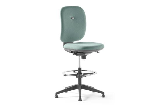 Afbeeldingen van Alaia - multimedia stoel met middelhoge rug - met voetring
