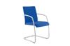 Afbeeldingen van Zoom - vergader- of bezoekersstoel met hoge rug - met armleuningen